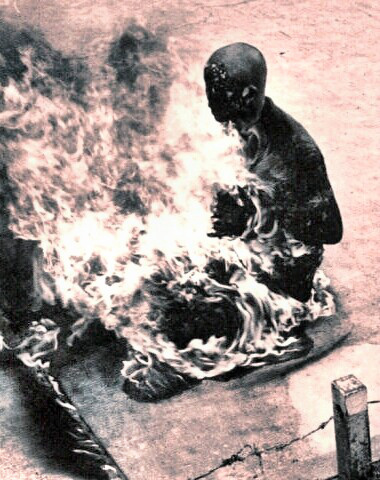 Quang Duc's immolation protest