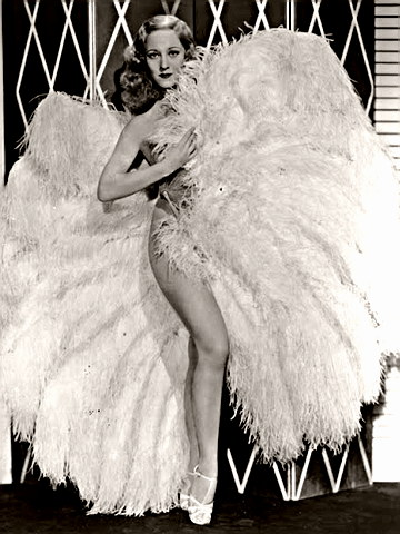 Actress Sally Rand