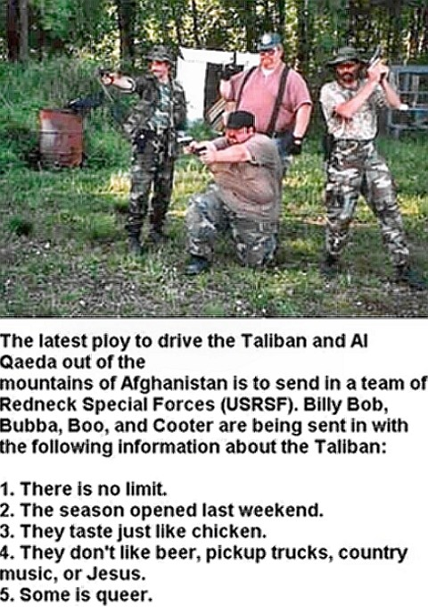 Redneck Special Forces Training Facility
