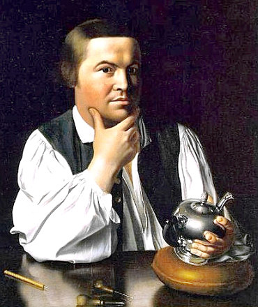 Silversmith and Patriot Paul Revere