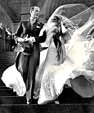 Actor Cyril Ritchard-wedding