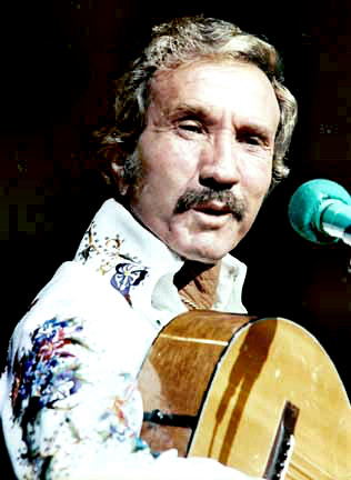 Singer, Songwriter Marty Robbins