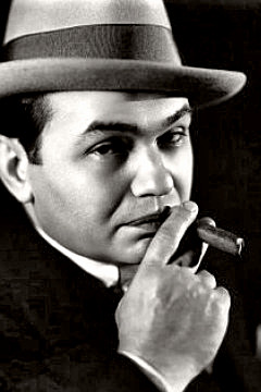 Actor Edward G. Robinson