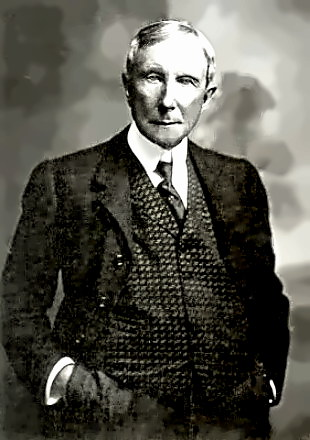 John D. Rockefeller - How would you like to ask this fellow for a raise?
