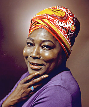 Actress Esther Rolle