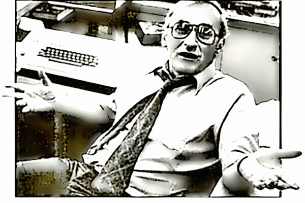 Columnist Mike Royko