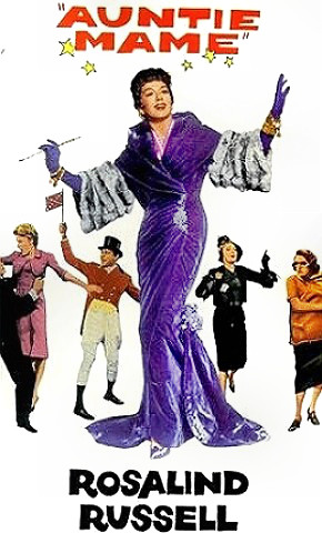 Roz Russell as Auntie Mame