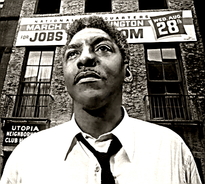 Civil Rights Leader Bayard Rustin