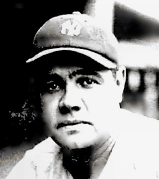 Baseball Great Babe Ruth