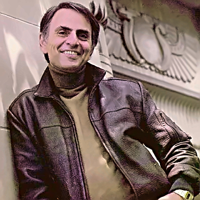 Scientist, Author Carl Sagan