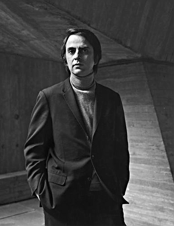 Scientist Carl Sagan