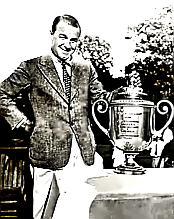 Golf Champion Gene Sarazen