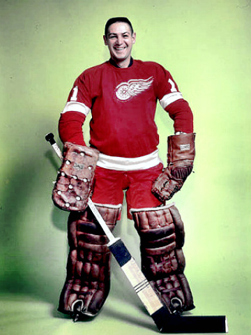 Hockey Hall of Famer Terry Sawchuk