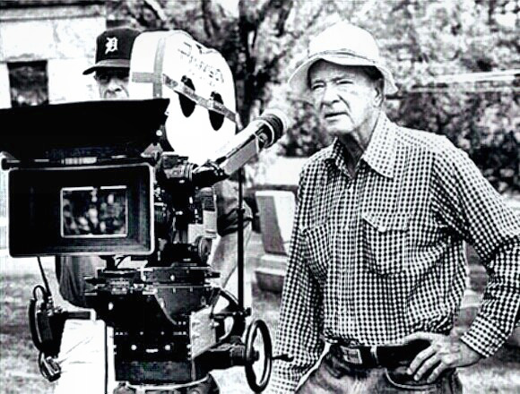 Director Franklin J. Schaffner at work