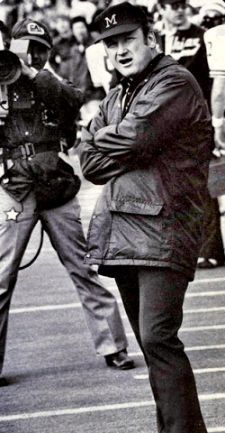 Michigan Head Coach Bo Schembechler