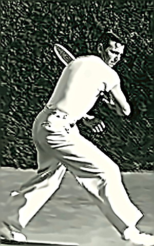 Tennis Player Ted Schroeder