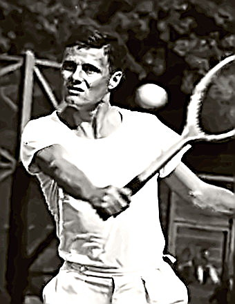 Tennis Champ Ted Schroeder