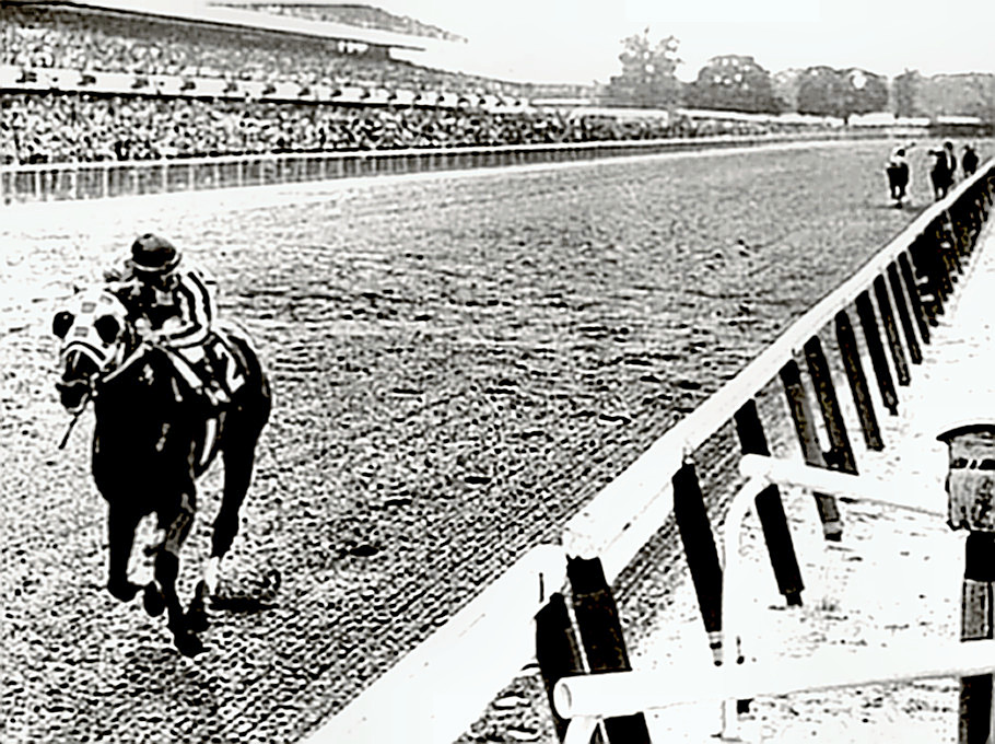 Secretariat humbles the field at The Belmont