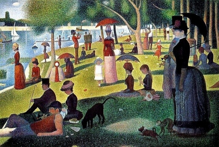 Seurat's Sunday Afternoon on the Island of La Grande Jatte