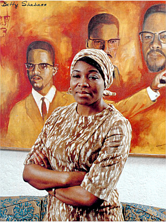 Civil Rights Leader Betty Shabazz