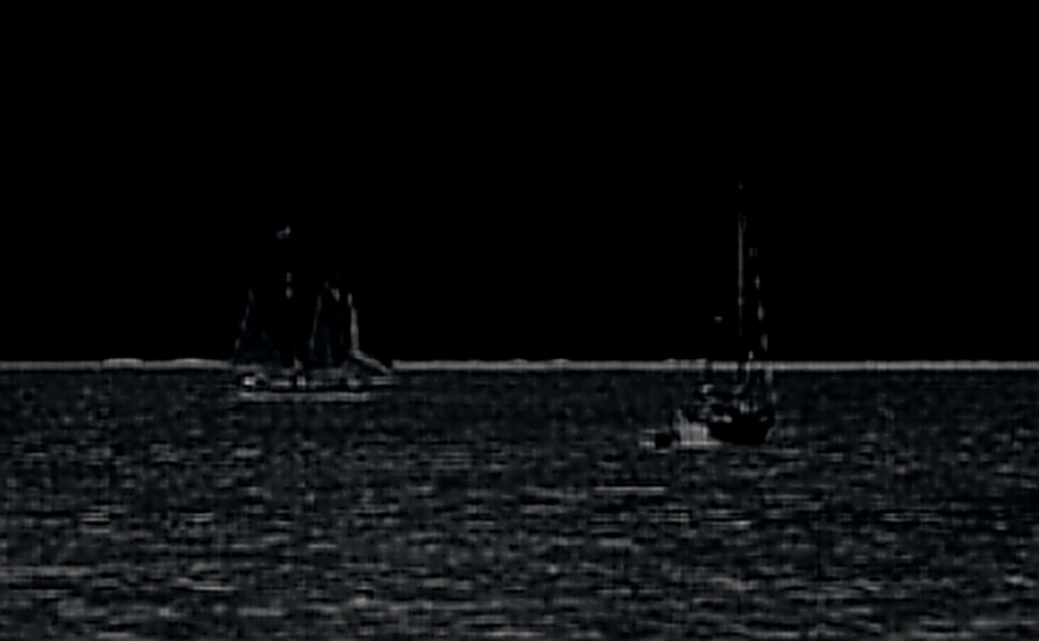 ships passing in night