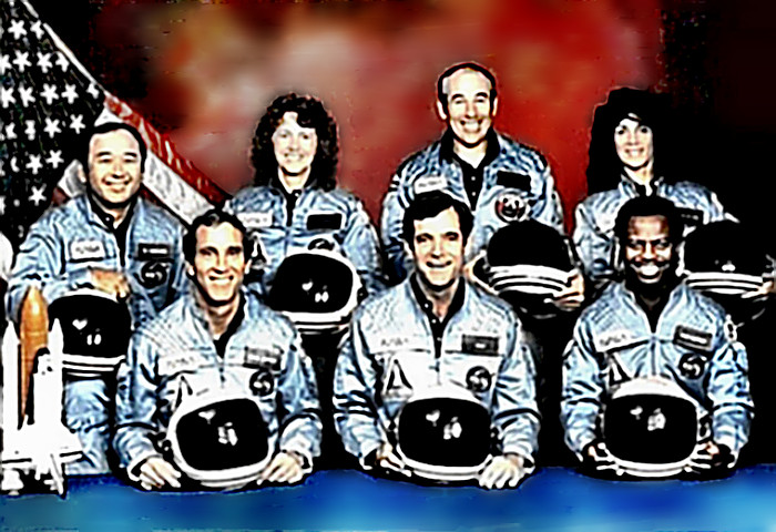 space shuttle challenger crew names - photo #9