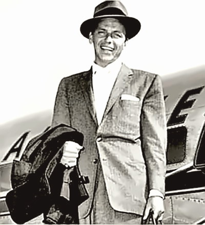 Movie Star and Singer Frank Sinatra
