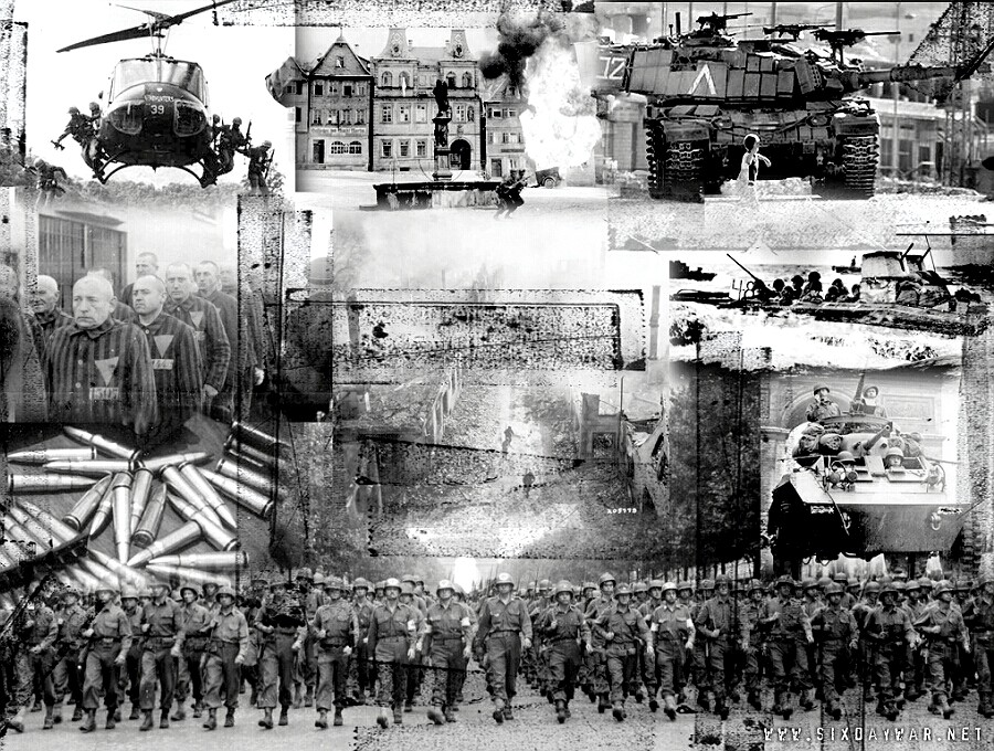 six-day-war-montage