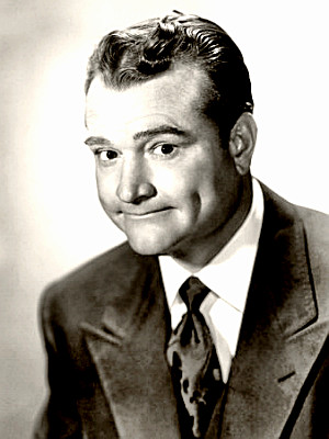Comedian Red Skelton