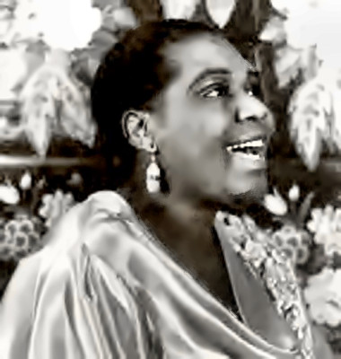 Blues Singer Bessie Smith