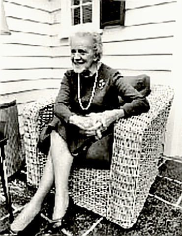 Maine Senator Margaret Chase Smith at Home