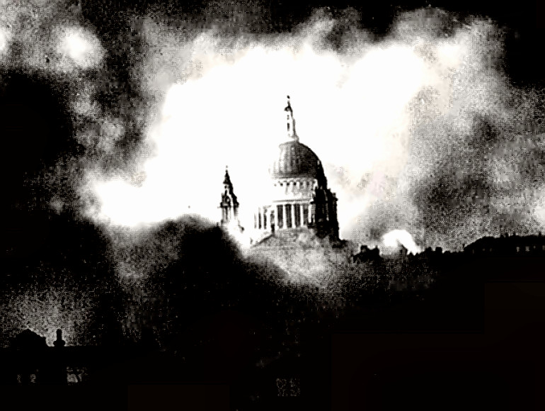 St. Paul's Cathedral - 1940