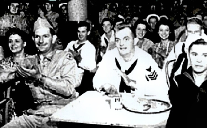 Stage Door Canteen with 1940 patrons