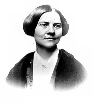 Activist Lucy Stone in 1847