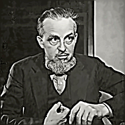 Writer Rex Stout