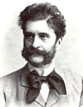 Composer Johann Strauss, Jr.