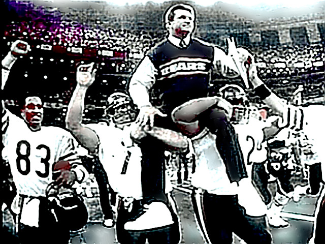 Super Bowl XX - Coach Mike Ditka