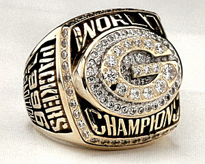 Super Bowl XXXI ring