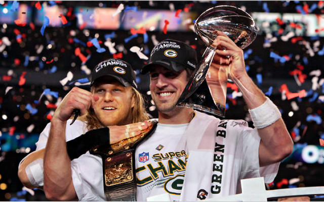 Super Bowl 45 - Aaron Rodgers (MVP) & Clay Matthews