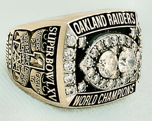 Super Bowl XV - ring