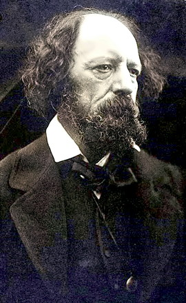 Poet Laureate Alfred Lord Tennyson