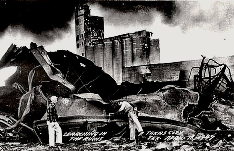 Texas City 1947 explosion aftermath