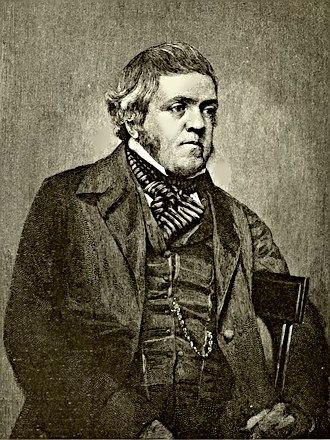 Writer William Makepeace Thackeray