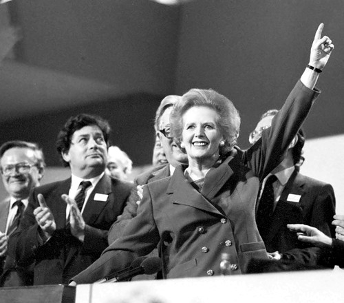 Politician Margaret Thatcher