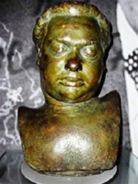 Dylan Thomas death mask