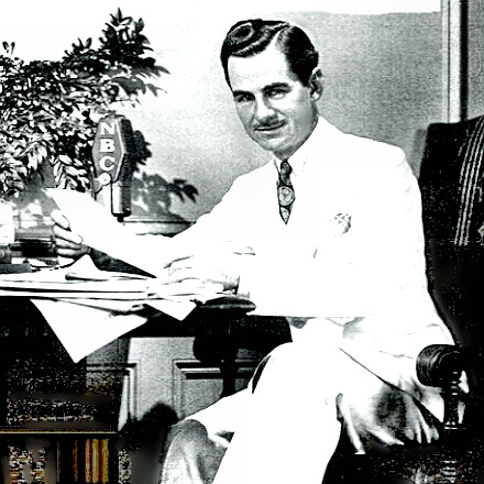Broadcaster Lowell Thomas