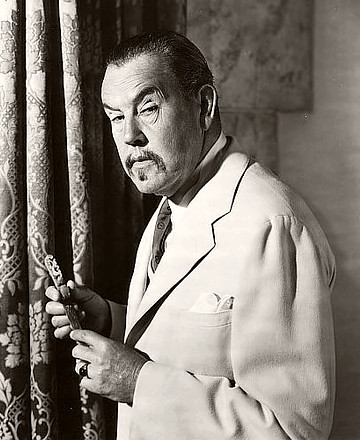 Actor Sidney Toler as Charlie Chan