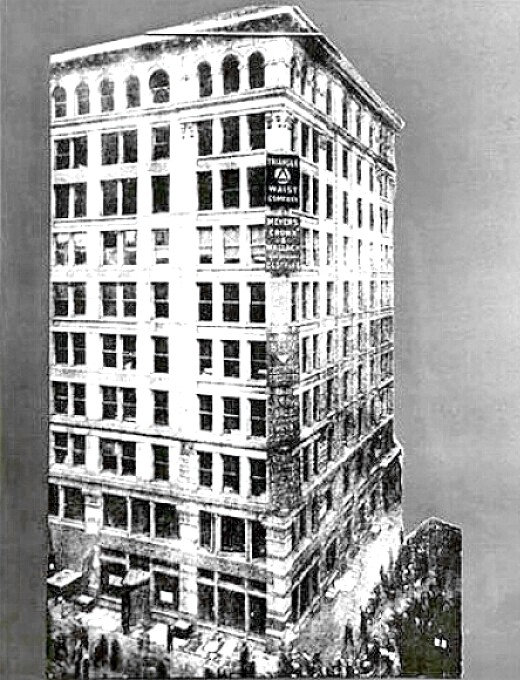 Triangle Shirtwaist factory - Asch building