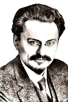 Revolutionary Leon Trotsky