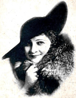 Sophie Tucker in 1917
